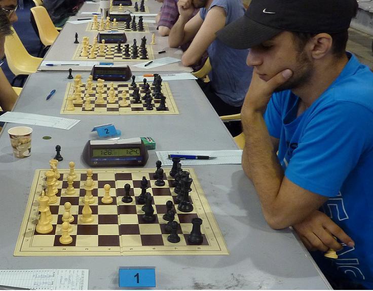 David Ohanov, très concentré